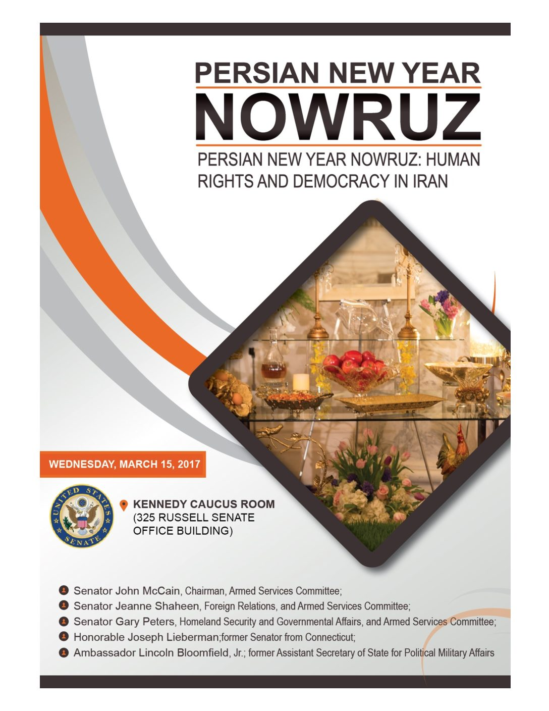 Senate-NOWRUZ March 2017
